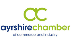 Jackie Brambles client Ayrshire Chamber of Commerce logo